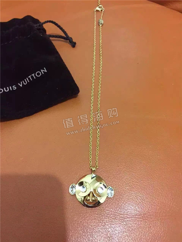 LOUIS VUITTON 2016新款首饰代购 LV专柜代购正品猴子项链手链