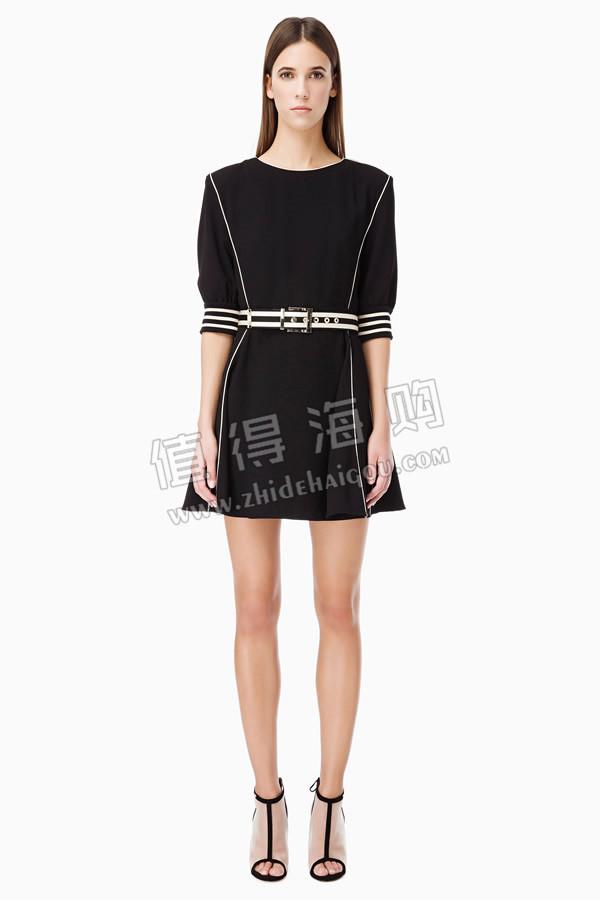 海外代购正品 2016春夏新款 ELISABETTA FRANCHI 别致风格连衣裙