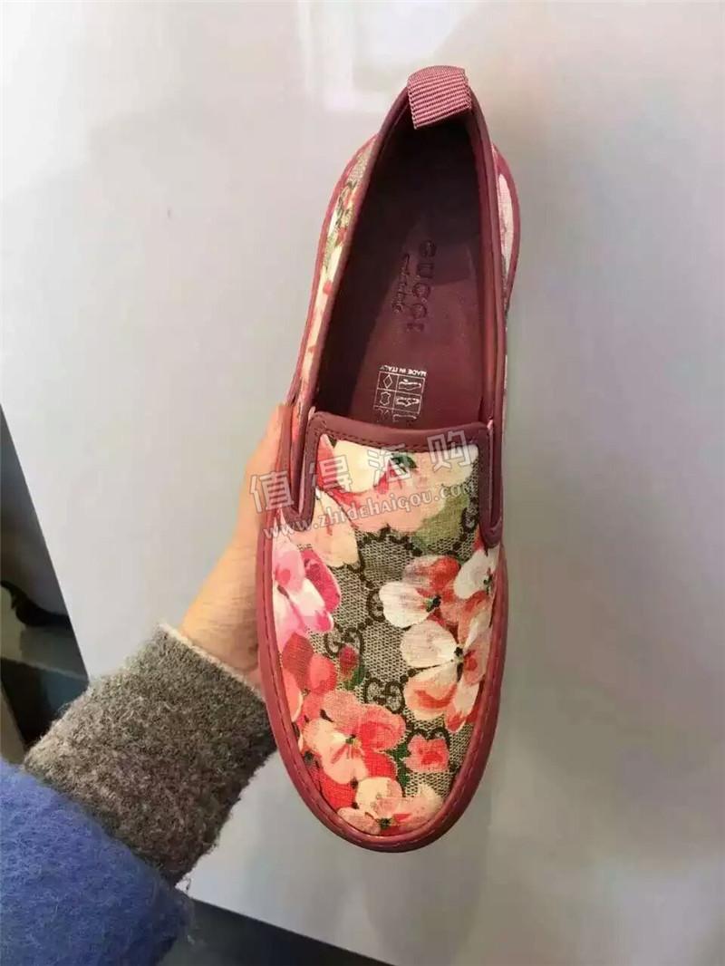 Gucci 古驰 意大利专柜代购绑带花系列女鞋