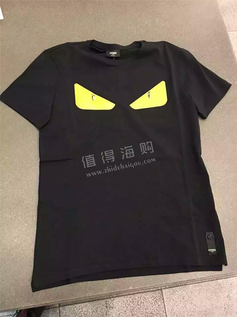 Fendi 意大利专柜打折代购  多款恶魔短袖T恤推荐