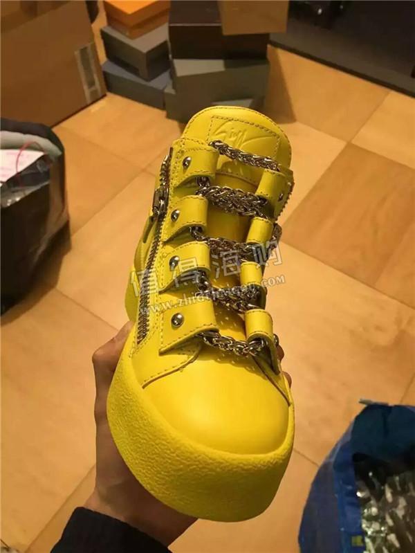 GZ 2016年新款男款休闲鞋 Giuseppe Zanotti意大利专柜男鞋代购