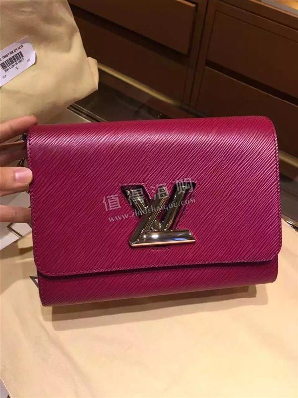 Louis Vuitton 路易威登热门款女包 Twist中号链条包 单肩包 LV代购