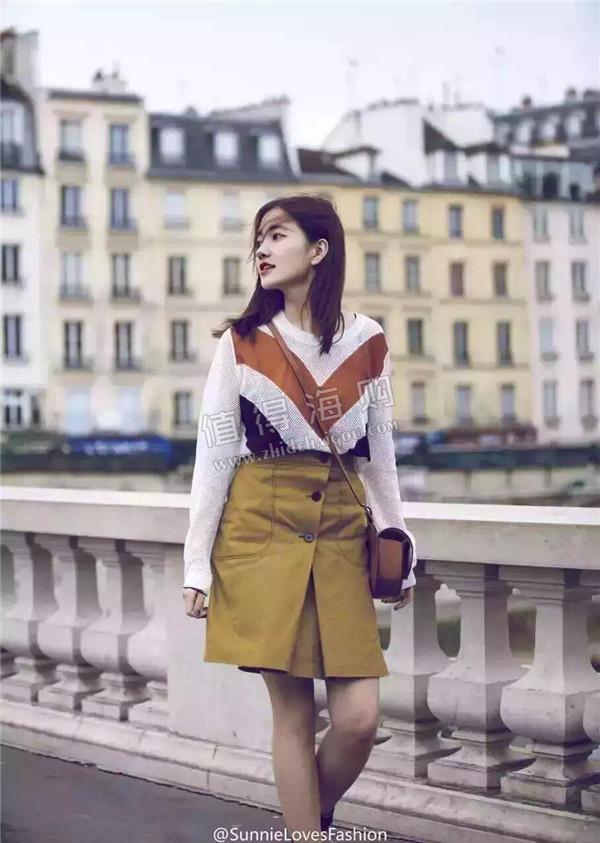 Sandro 2016年新款女装 上衣半身裙 完美搭配 街拍神器 Sandro专柜代购