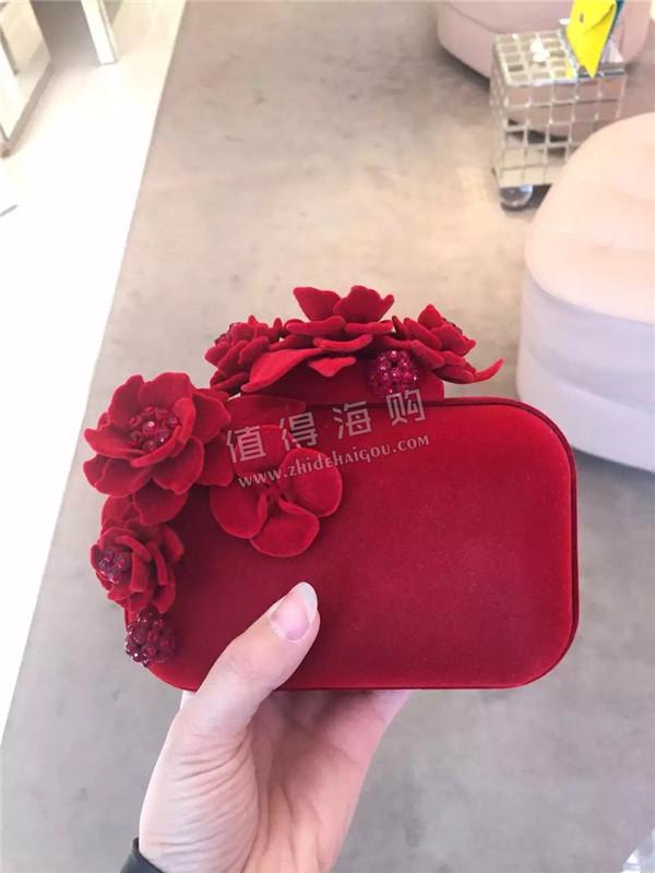 Jimmy Choo 2016年新款红色系列手包和高跟鞋 宴会婚礼的绝配
