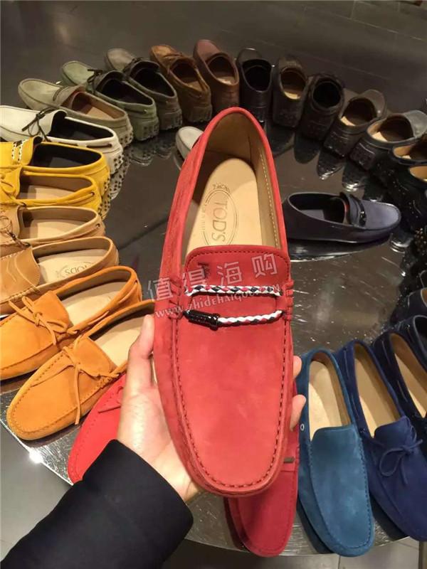 Tod's 2016年新款男鞋 男士豆豆鞋 舒适著称的休闲鞋之一  tods代购