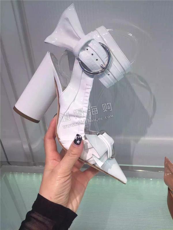 Dior 迪奥2016年新款女鞋 夏季走秀款高跟鞋 dior专柜正品代购
