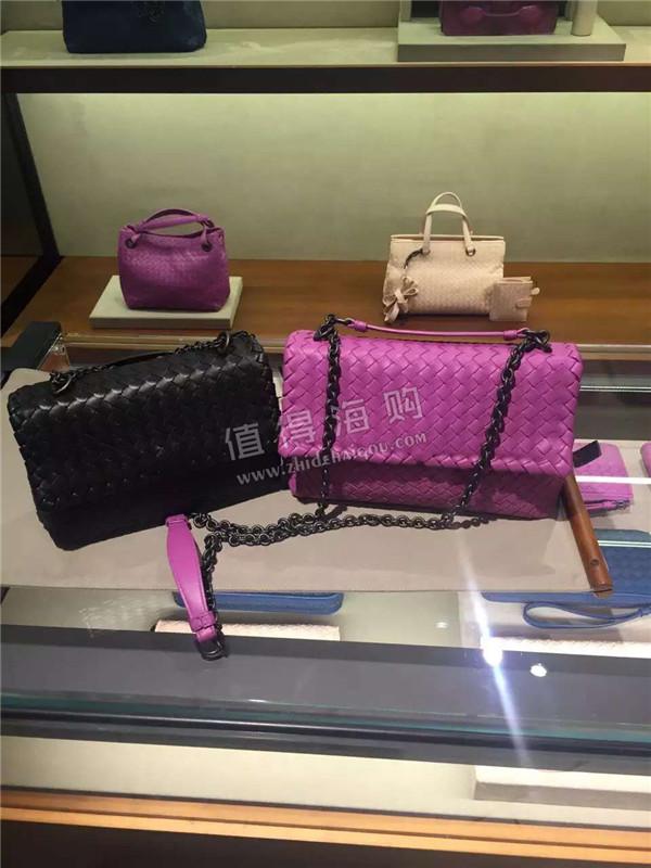 Bottega Veneta 葆蝶家链条编织款女包 单肩挎包 意大利BV专柜代购