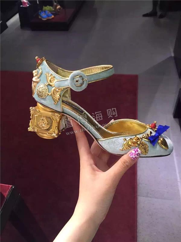 Dolce&Gabbana 2016年新款DG女鞋代购 每一双高跟鞋都像精美的艺术品(三)