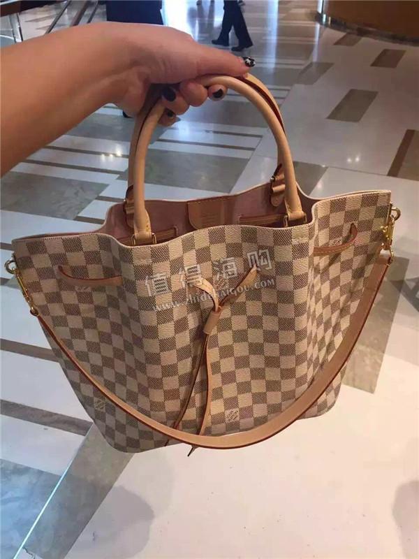 LV 2016年新款女包 LV最新款水桶包购物袋 Louis Vuitton专柜正品代购