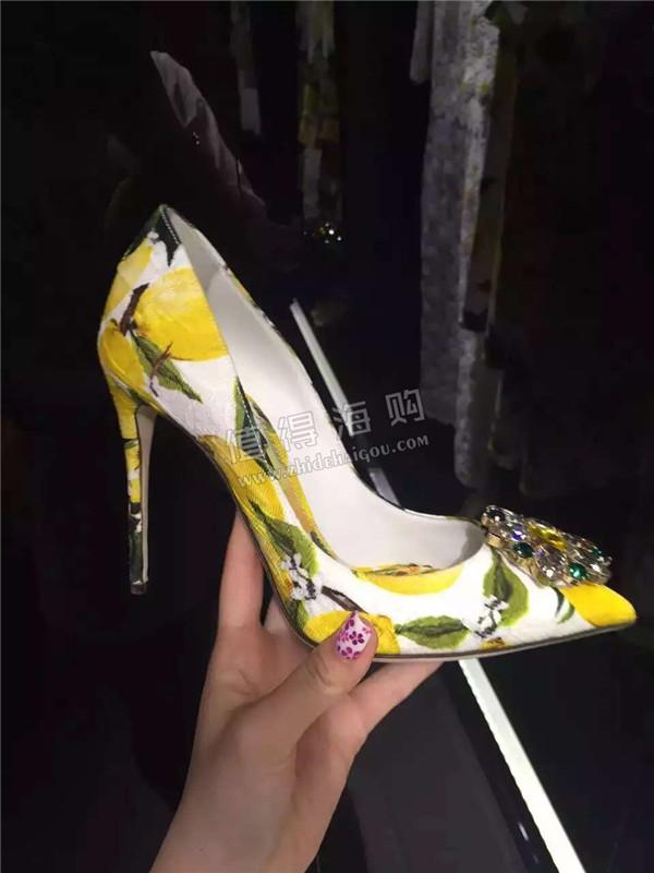 Dolce&Gabbana 杜嘉班纳2016春夏款女鞋VIP打折开始 DG意大利正品代购
