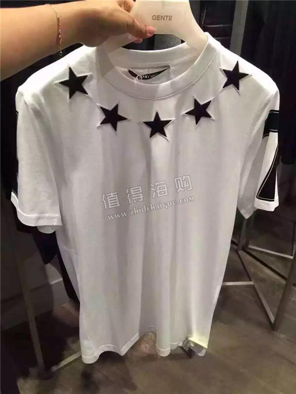 Givenchy 纪梵希2016年新款 秋冬新款男装tee恤 gvc意大利专柜代购