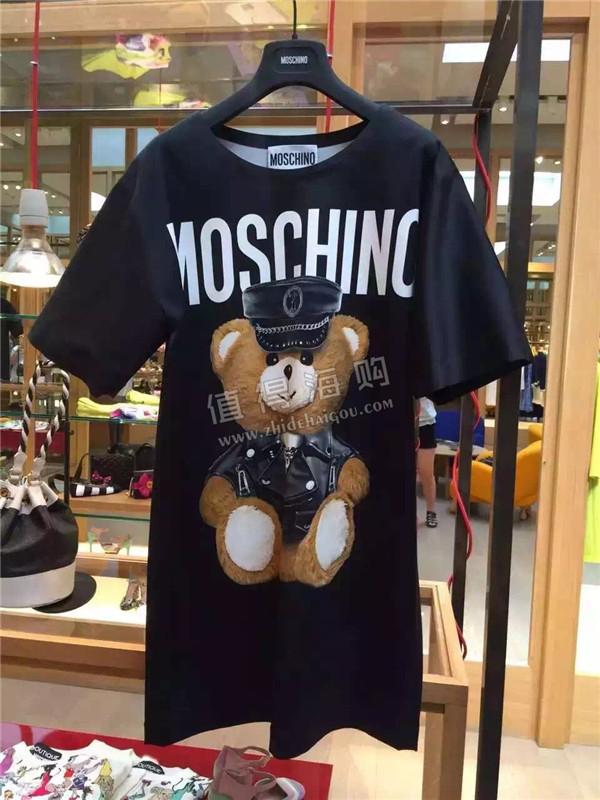 Moschino 2016年新款 秋冬新款女装 小熊系列女装 Moschino意大利代购