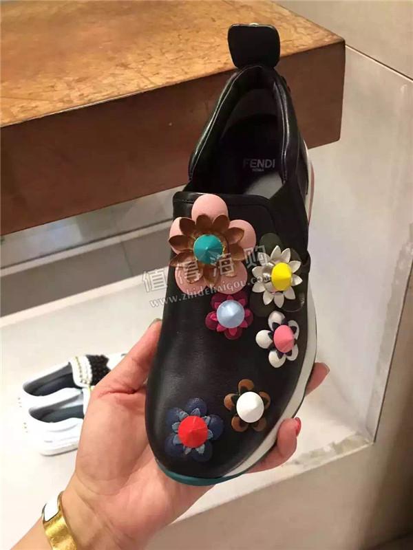 Fendi 芬迪2016年新款 秋冬新款女鞋 休闲运动鞋 Fendi意大利正品代购