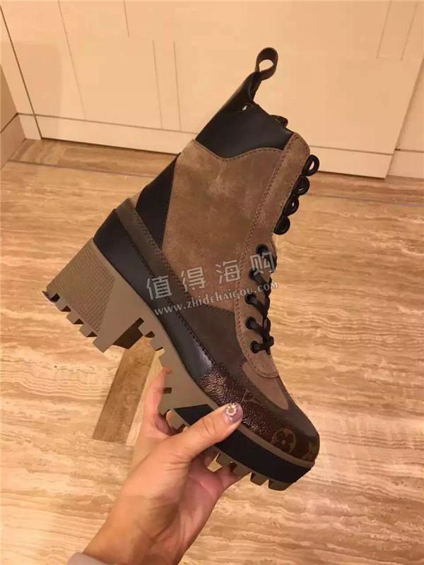 Louis Vuitton路易威登2016年秋冬最新款女靴 穿上定会帅的不要不要的 LV专柜正品代购