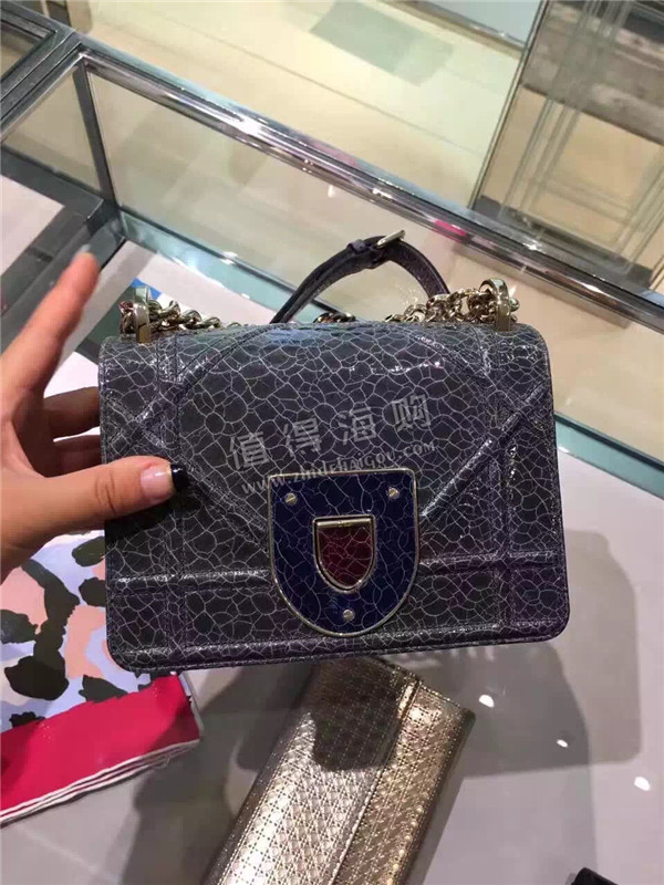 Dior 迪奥2016年新款 秋冬新款包包 Diorama Club链条包 专柜正品代购