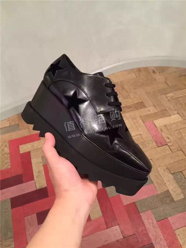 Stella McCartney 2016年新款 新颜色系Stella星星松糕鞋 意大利代购