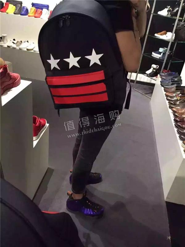Givenchy 纪梵希2016年新款书包 男士背包 纪梵希gvc意大利专柜代购
