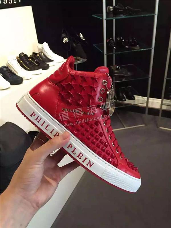 Philipp Plein 2016年秋冬新款男鞋 帅得无法形容 PP意大利正品代购