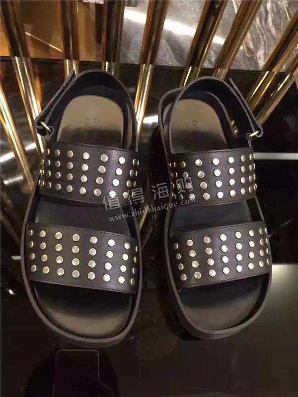 Gucci 2016年新款 秋冬新款男鞋 男士凉鞋 Gucci男鞋意大利代购