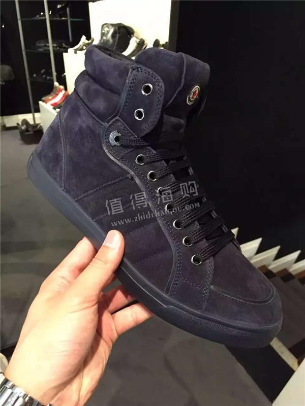 Moncler 2016年秋冬新款男士运动鞋 休闲鞋 moncler意大利正品代购