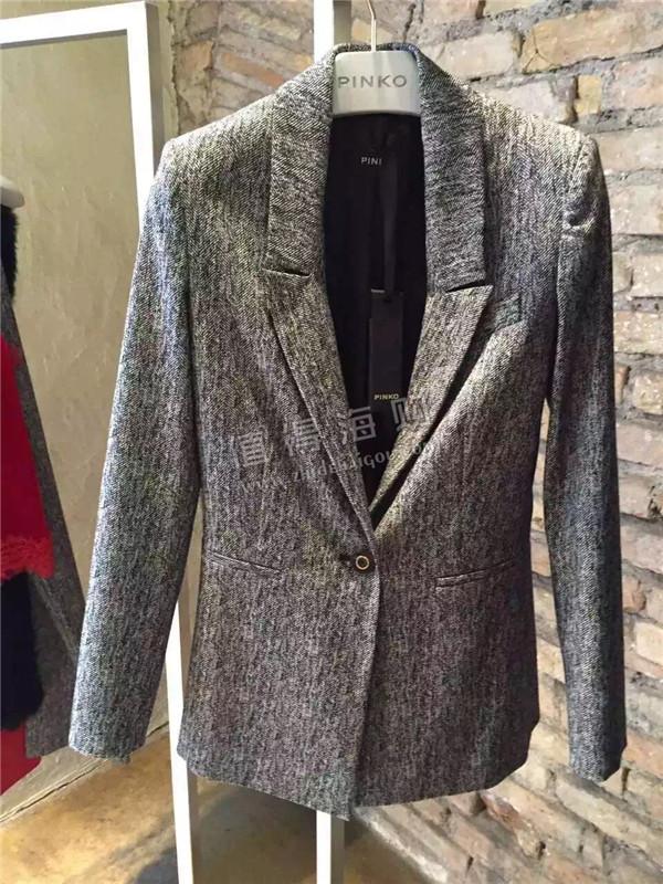 Pinko 2016年新款 秋冬新款女装 OL套装 职业女士套装 Pinko代购价格很好