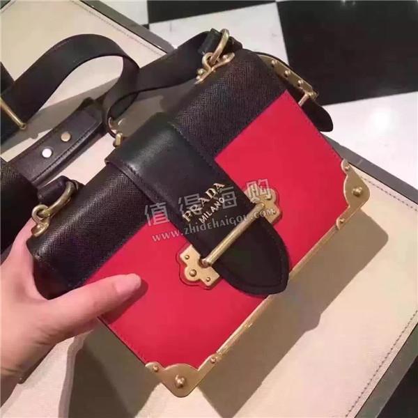 Prada 普拉达2016年新款 秋冬新款女包 Prada Cahier手袋 美得无语 意大利正品代购