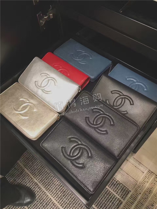 Chanel 香奈儿2016年新款 秋冬新款钱夹 多款女款钱包 chanel钱包代购