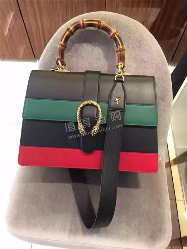 Gucci 2016年秋冬新款Dionysus 真皮手提包 单肩包 Gucci意大利正品代购