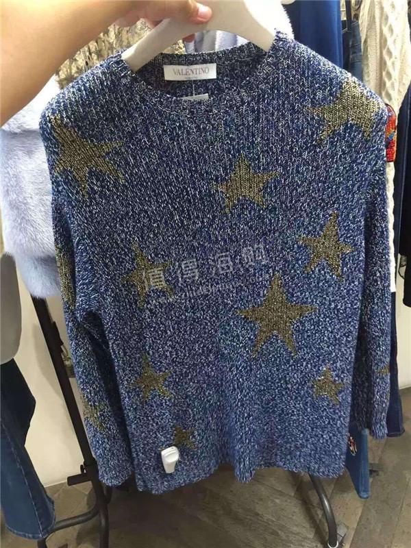 Valentino 华伦天奴2016年秋冬新款女装 都是星星系列 Valentino女装意大利代购