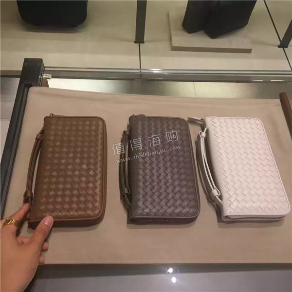 Bottega Veneta 多款男士编织款钱包和手包 2016年新款 帅男们看过来 意大利BV专柜正品代购