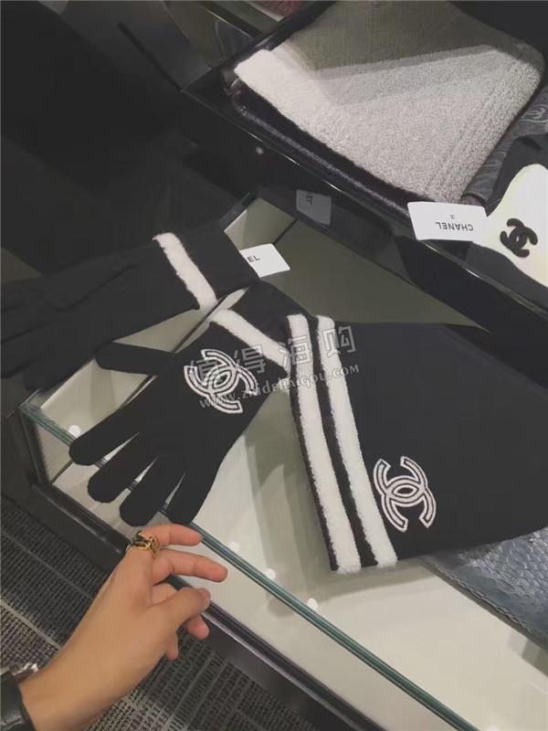 Chanel 香奈儿2016年秋冬新款女装配饰 女士手套 帽子 围巾 意大利Chanel专柜代购