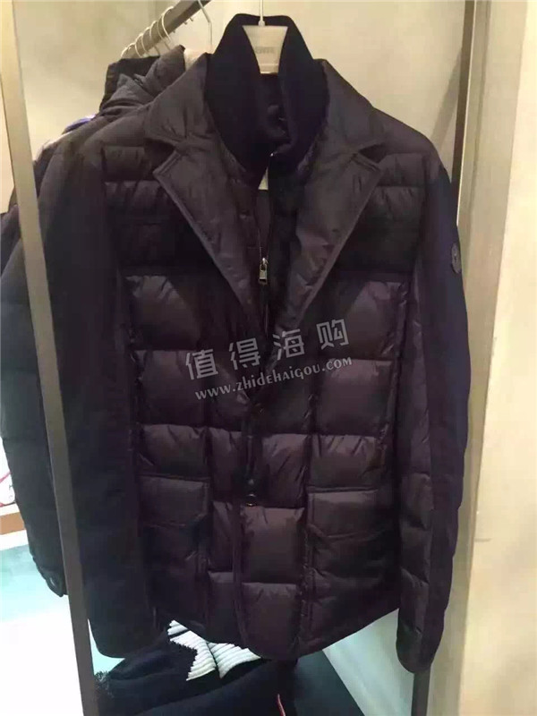 Moncler 2016年秋冬新款男士羽绒服 moncler羽绒服意大利代购