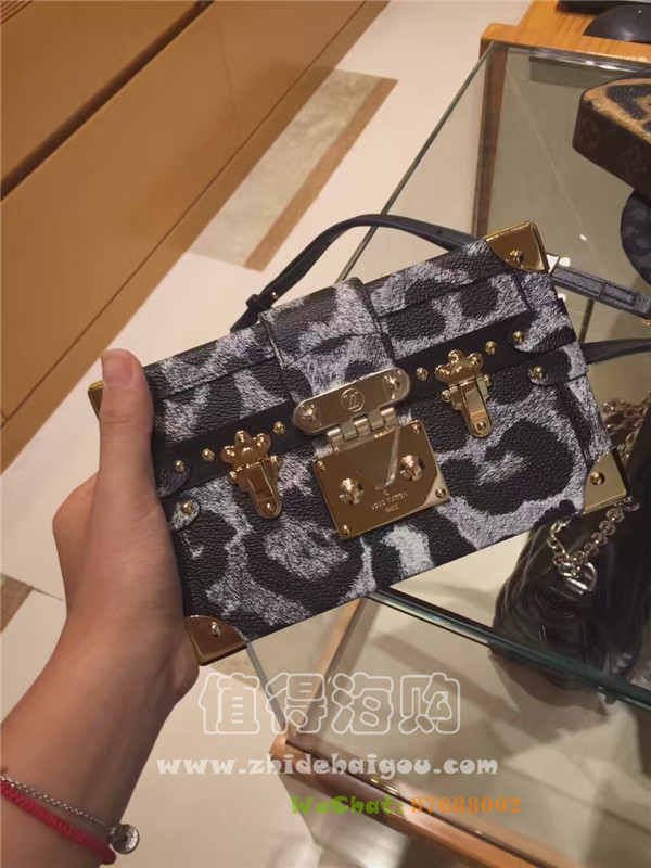 LV 2016秋冬新款盒子包 美得无语了 LV意大利正品代购