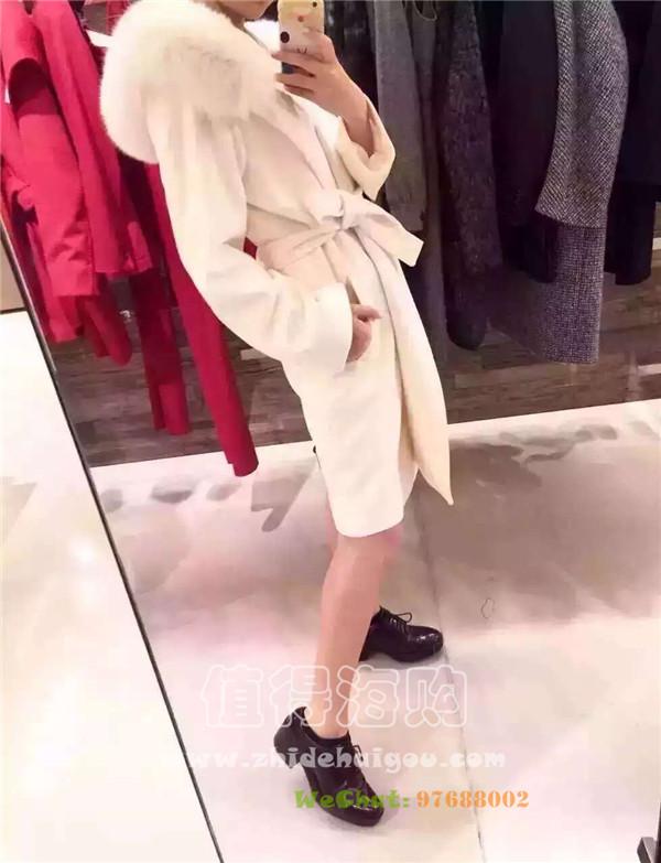 MaxMara 2016年秋冬新款大衣 代购价是国内专柜的一半哦 Maxmara女装意大利代购