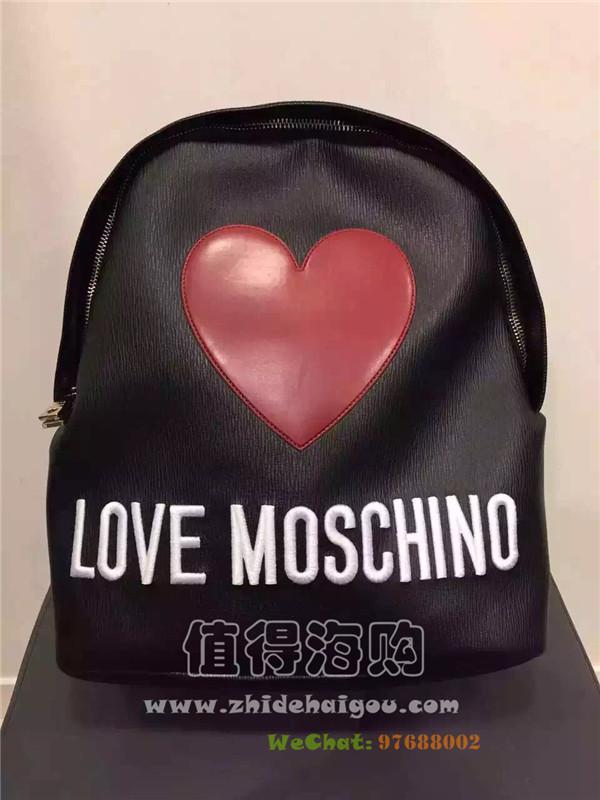Love Moschino 2016年新款秋冬新款双肩背包 价格很好噢 Moschino正品意大利代购