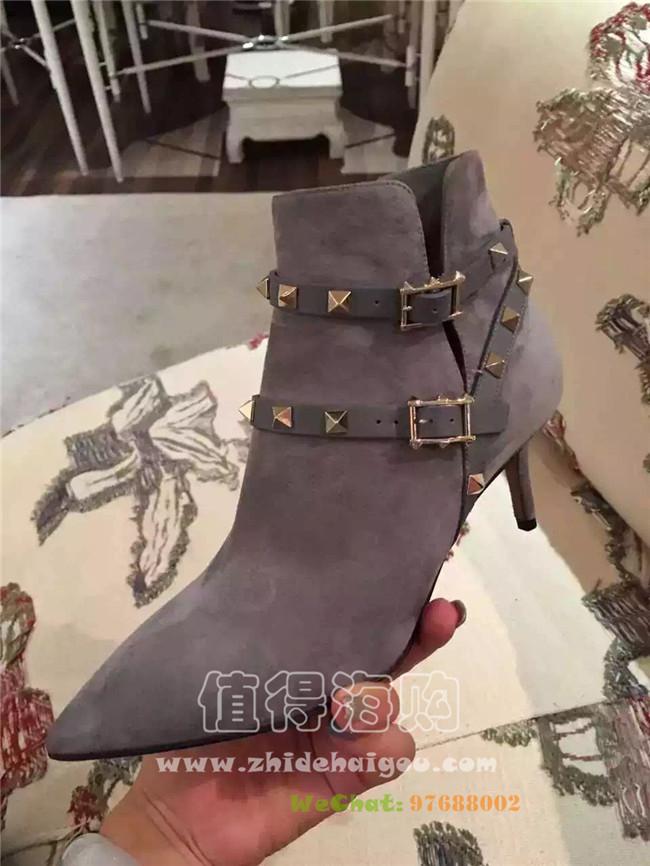 Valentino 2016年秋冬新款女靴 短靴 valentino华伦天奴女鞋意大利正品代购