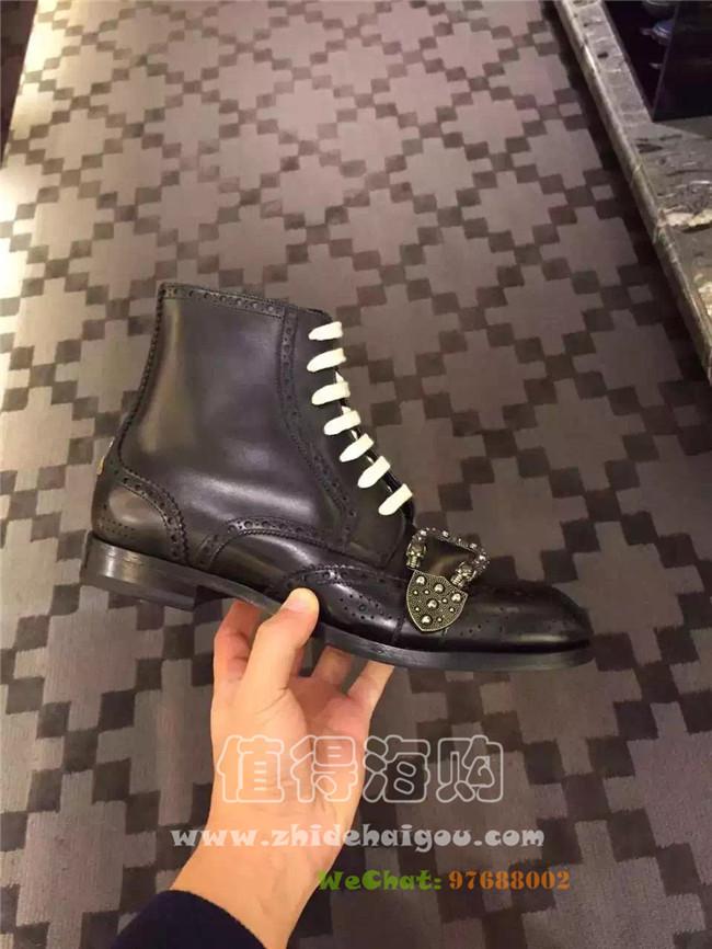 Gucci 2017年早春新款男士皮鞋 帅的无语 Gucci正品意大利代购