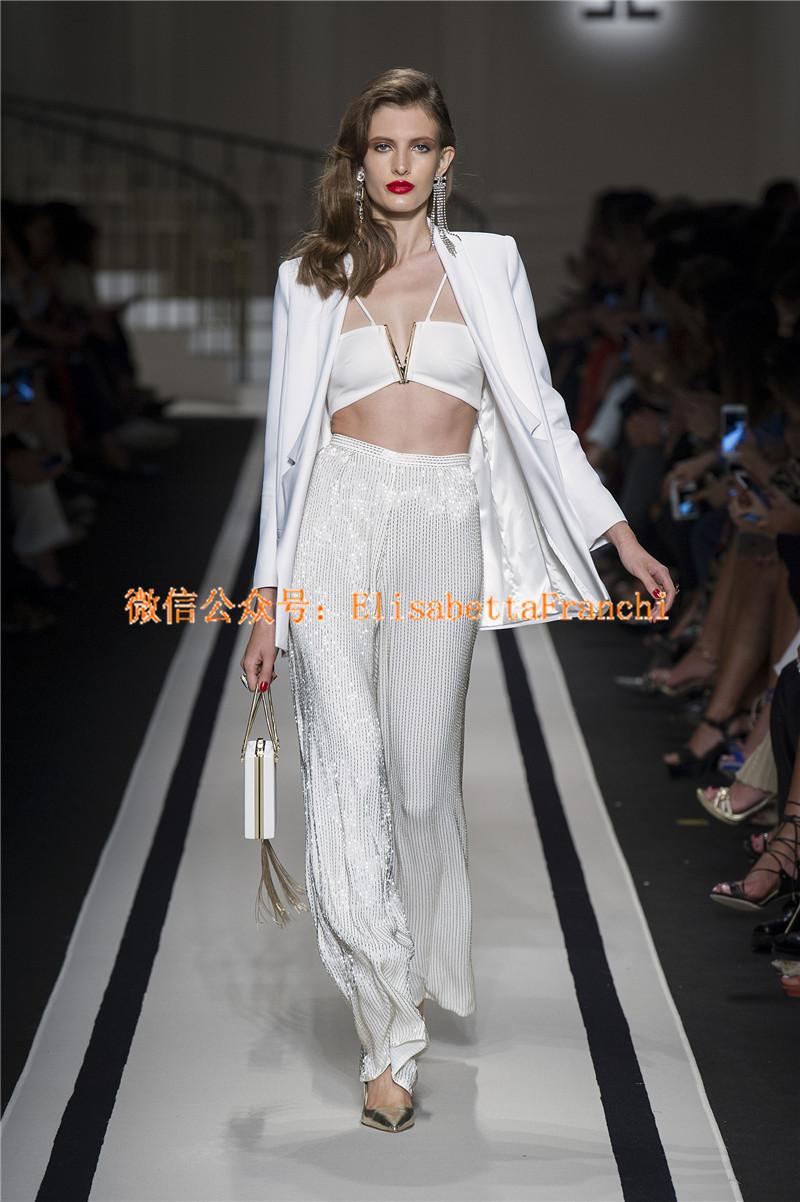 Elisabetta Franchi 2017春夏新款 模特走秀图