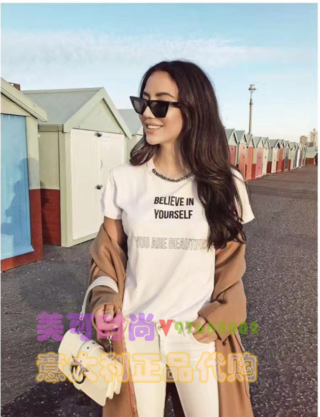 PINKO 2018春夏新款女装短袖T恤 多色选择 Pinko意大利正品专柜现货代购