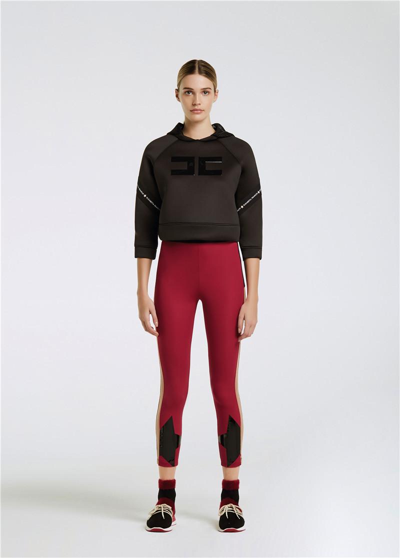 Elisabetta Franchi 2018年秋冬新款走秀模特图 MOVES 运动装