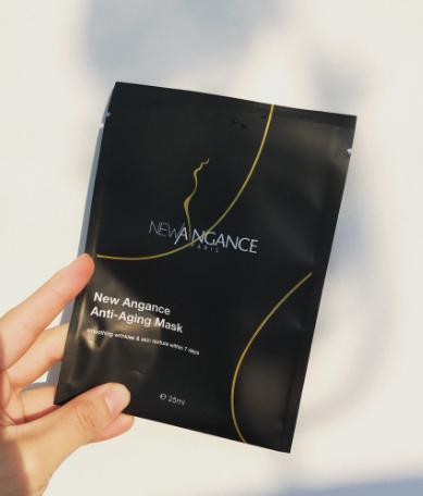 这款来自法国的NewAngance流金岁月抗衰面膜颜值很高的一款抗衰面膜 值得入手 法国NewAngance黑面膜