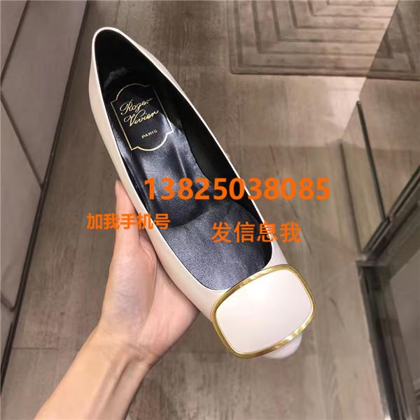 意大利海外代购全球购Roger Vivier/RV 2018秋冬新款女鞋低跟鞋高跟鞋 女包