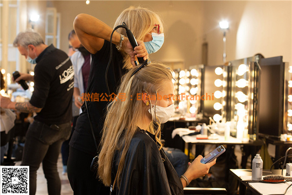 Elisabetta Franchi 2021春夏新款 后台走秀 图片